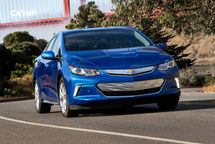 2020 Chevrolet Volt plug-in hybrid Front View