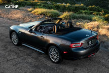 2020 Fiat 124 Spider Rear 3 Quarter View