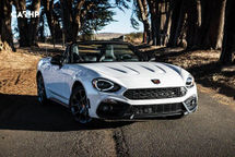 2020 Fiat 124 Spider 3 Quarter View