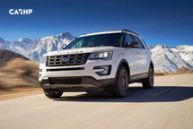 2020 Ford Explorer Front View