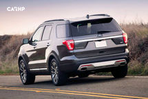 2020 Ford Explorer Rear View