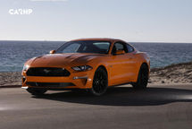 2020 Ford Mustang 3 Quarter View