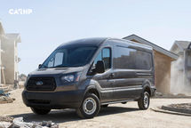 2020 Ford Transit 3 Quarter View