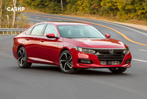 2020 Honda Accord 3 Quarter View