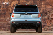 2020 Honda Passport Rear View