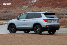 2020 Honda Passport Rear 3 Quarter View