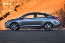 2020 Hyundai Accent Left Side View