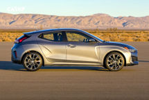 2020 Hyundai Veloster Right Side View
