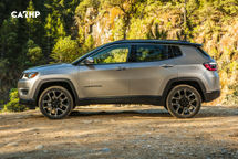 2020 Jeep Compass Left Side View