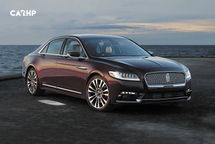 2020 Lincoln Continental 3 Quarter View