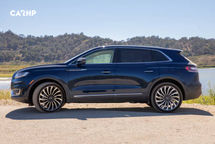 2020 Lincoln Nautilus Left Side View