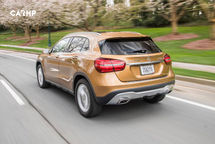 2020 Mercedes-Benz GLA-Class Rear View