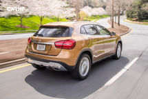 2020 Mercedes-Benz GLA-Class Rear 3 Quarter View