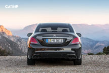 2020 Mercedes-Benz AMG C 43 Rear View