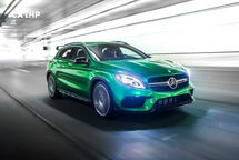 2020 Mercedes-Benz AMG GLA 45 3 Quarter View