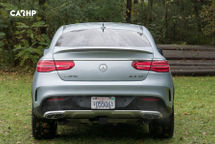 2020 Mercedes-Benz AMG GLE 43 Coupe Rear View