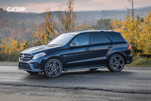 2020 Mercedes-Benz AMG GLE 43 Coupe 3 Quarter View