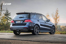 2020 Mercedes-Benz AMG GLE 43 Coupe Rear 3 Quarter View