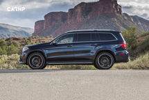 2019 Mercedes-Benz AMG GLS 63 Left Side View