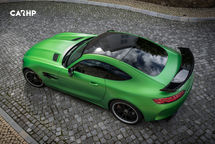 2020 Mercedes-Benz AMG GT Top View