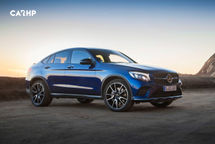 2020 Mercedes-Benz GLC-Class Coupe Right Side View