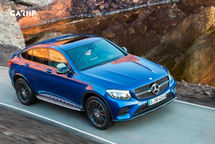 2020 Mercedes-Benz GLC-Class Coupe Top View