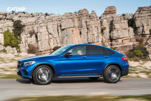 2020 Mercedes-Benz GLC-Class Coupe Left Side View