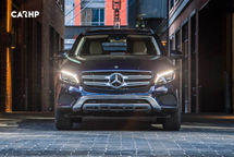 2020 Mercedes-Benz GLC 350e plug-in hybrid Front View