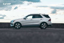 2020 Mercedes-Benz GLE-Class Left Side View