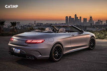 2020 Mercedes-Benz S-Class Convertible Rear 3 Quarter View