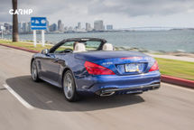 2020 Mercedes-Benz SL-Class Rear View