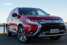 2020 Mitsubishi Outlander 3 Quarter View