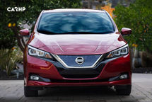 2020 Nissan Leaf electric Front View