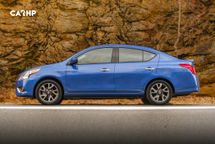 2020 Nissan Versa Left Side View