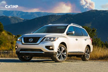2020 Nissan Pathfinder 3 Quarter View