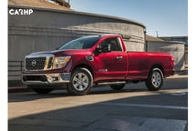 2020 Nissan Titan 3 Quarter View