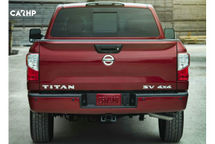 2020 Nissan Titan Rear View