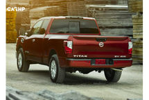 2020 Nissan Titan Rear 3 Quarter View