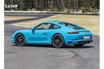 2020 Porsche 911 GT3 Rear 3 Quarter View