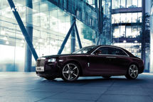 2020 Rolls-Royce Ghost Left Side View