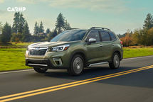 2020 Subaru Forester 3 Quarter View