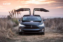 2019 Tesla Model X electric Front View
