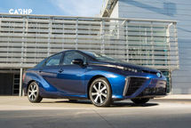 2020 Toyota Mirai electric Right Side View