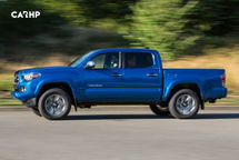 2020 Toyota Tacoma Left Side View