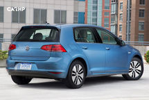 2020 Volkswagen e-Golf electric 3 Quarter View