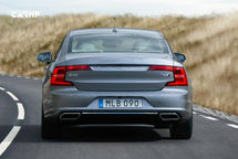 2020 Volvo S90 Rear View