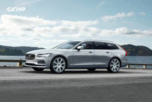 2020 Volvo V90 Left Side View