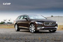 2020 Volvo V90 3 Quarter View