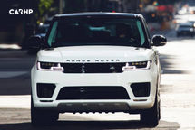 2020 Land Rover Range Rover Sport Front View